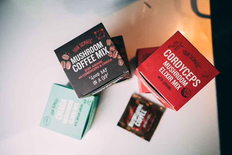 Four Sigmatic Mushrooms